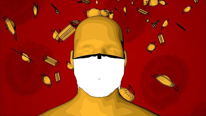 How to wear a face mask Corona Virus